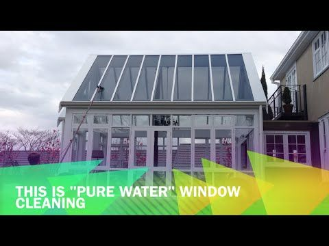"Awesome video showing window cleaning in Tauranga. This home has an incredible high roof conservatory that would be a real challenge to clean safely... if we didn't have the Window Gleam ""Pure Water"" system. All minerals (that would cause stains if left to dry on the glass) are removed then we wash and rinse high glass with both feet safely on the ground  Online, Instant Estimates 24/7 windowgleam.co.nz"