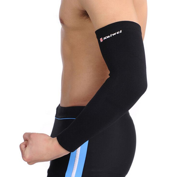 US $10.58 - Elastic Sports Equipment Long Design Thermal Elbow Protector Armguards Basketball Arm Sleeve - http://sportsdivine.com/products/elastic-sports-equipment-long-design-thermal-elbow-protector-armguards-basketball-arm-sleeve/