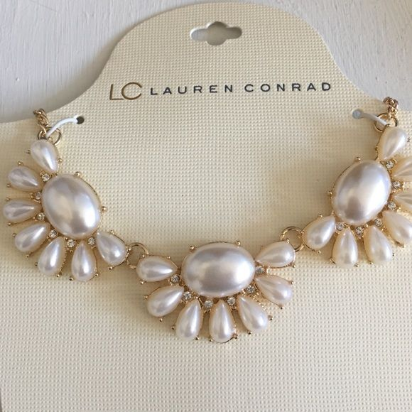 LC Lauren Conrad Necklace Just Elegant Necklace LC Lauren Conrad Jewelry Necklaces