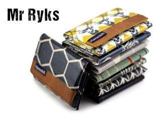 Hansedelli Mr Ryks Nähanleitung Männergeldbörse nähen Portemonnaie für Männer und Frauen einfaches Schnittmuster sewing Instruction Pattern wallet for men