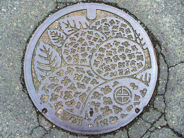 Kaminaka Fukui, manhole cover (福井県上中町マンホール) | Flickr - Photo Sharing!