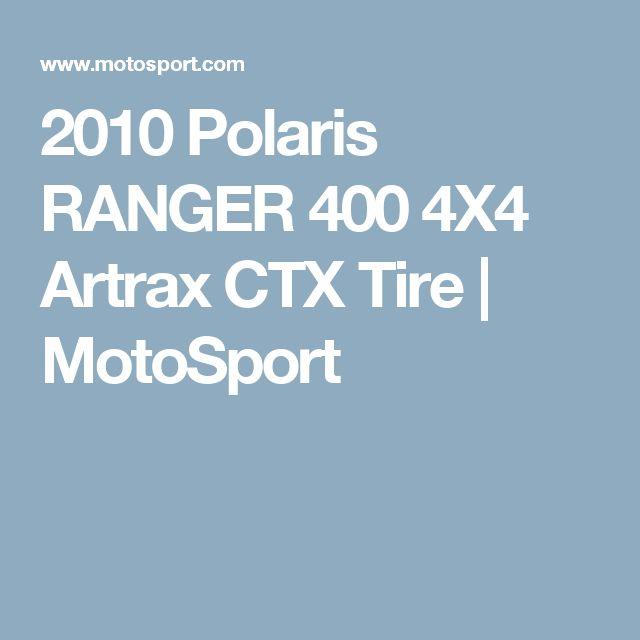 2010 Polaris RANGER 400 4X4 Artrax CTX Tire | MotoSport