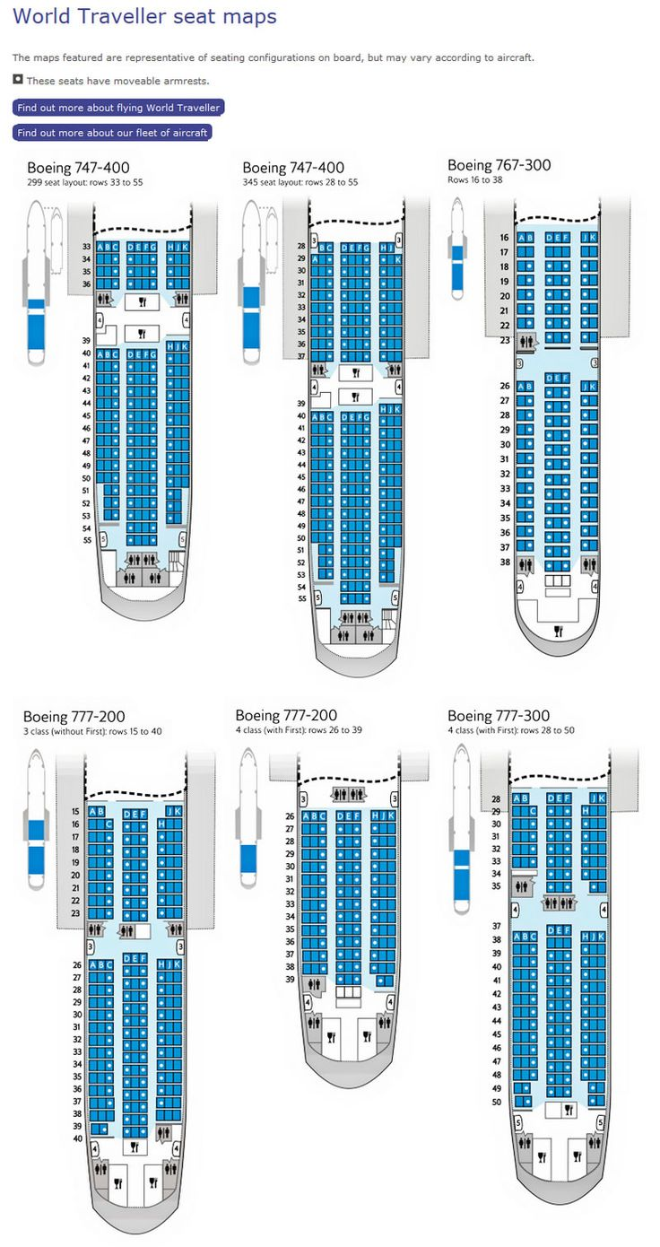 BRITISH AIRWAYS WORLD TRAVELLER SEATING CHARTS Airline