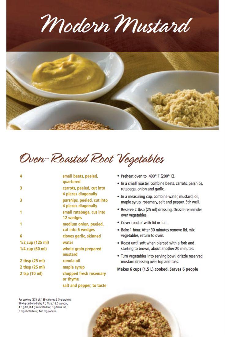 Oven-Roasted Root Vegetables | Modern Mustard