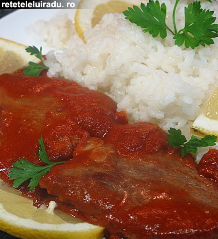 Sguatsego - Tomato sauce veal