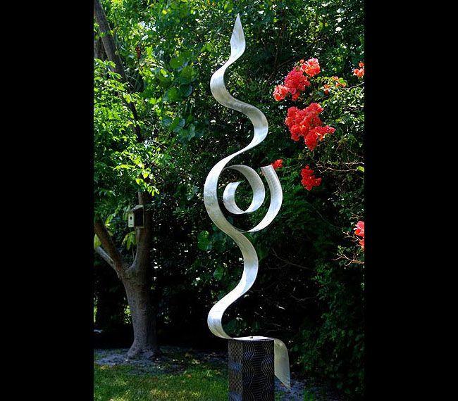 Modern Abstract Outdoor Painted Metal Art Sculpture  Looking Forward  Jon  Allen. 164 best Summer Sculpture Ideas images on Pinterest   Sculpture