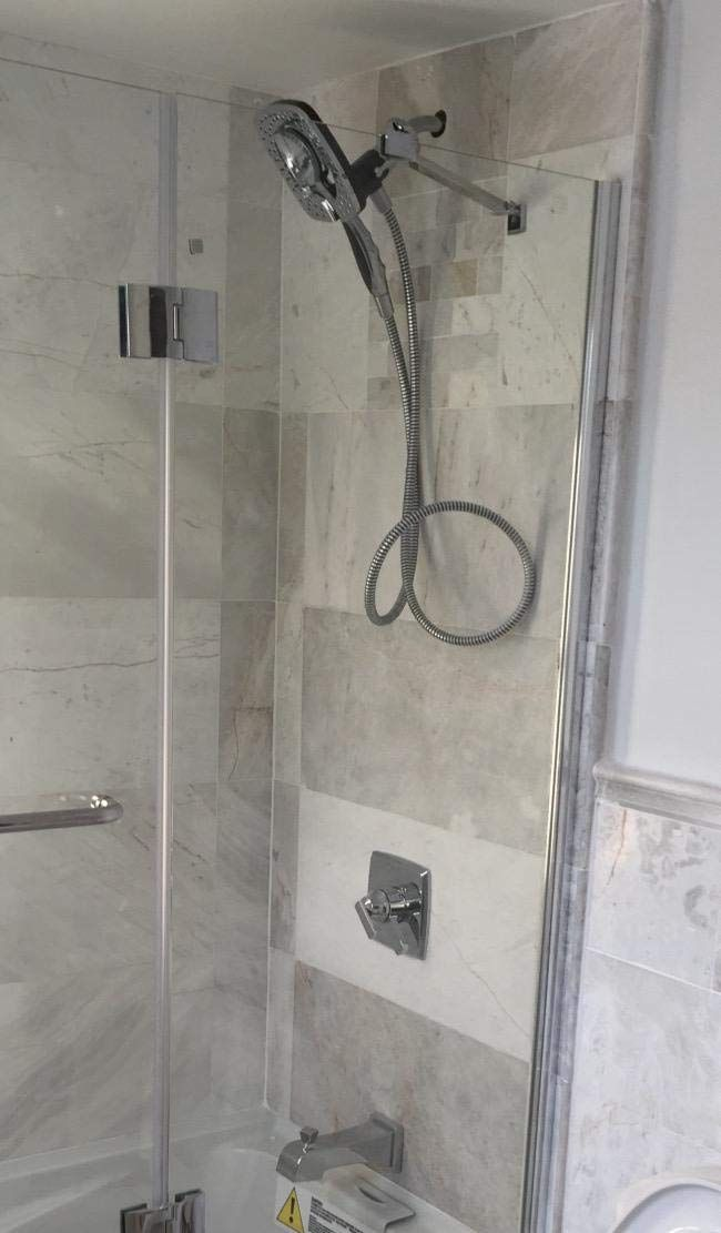 Hand Shower And Shower Head In One The In2ition 2 In 1 Dual