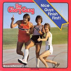 """The Glory Gang, with absolutely no-self esteem problems according to their hairdresser. Nice, but me, I preferred their first album - """"Nice Guys Can Be Right C*nts Too!"""""""