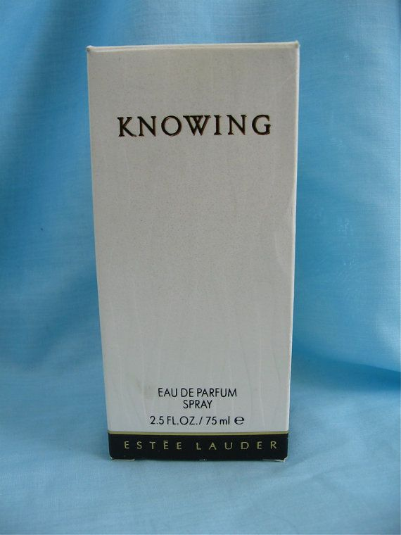 Vintage Knowing Perfume by Estee Lauder by DelicateCreations, $55.00