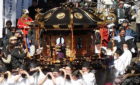 塩釜神社 帆手祭