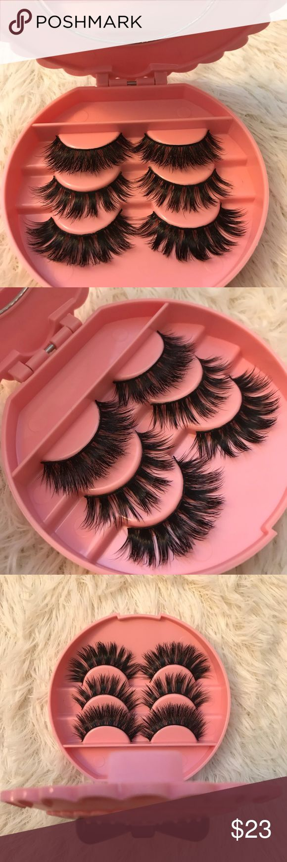 Mink lashes + Eyelash Case w mirror +$2 Add on eyelash Applicator  +$3 Add on eyelash glue Please message me if you want to add them.   ❌No Offers ✅ Bundle &  Save  # tags , Iconic, mink, red cherry eyelashes, house of lashes, doll, kawaii, case, full, natural,  Koko, Ardell, wispies, Demi , makeup, mascara, eyelash applicator, Mykonos Mink , Lashes , wispy ,eyelash case, mink lashes  Ship within 24 hours ❣️  This item is only 1 available ⭐️✨✅ Makeup False Eyelashes