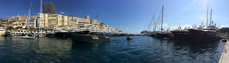 Memory of our visit to the #MonacoYachtShow