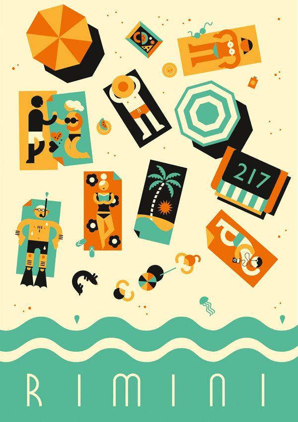 Rimini - poster  www.varaldocosmetica.it scopri i solari naturali all'olio extra vergine di oliva della Riviera!