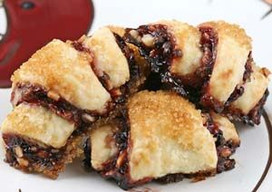 "Gluten Free Apricot and Cinnamon Rugelach by Chef Robert Landolphi author of ""Gluten Free Every Day"" and "" Quick-Fix Gluten Free"""