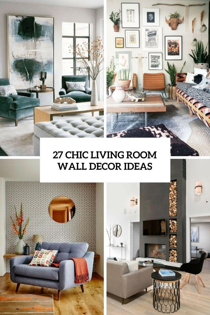 Living Room Wall Ideas Wall Decor Living Room Living Room Wall Living Room Decor 2018 #small #living #room #wall #decor