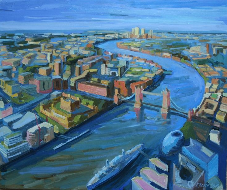 ARTFINDER: View from the Shard - I have just published View from the Shard on Artfinder Also see www.katharinerowe.com