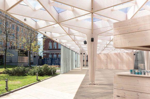 JA+U : World Design Capital Helsinki 2012 by Aalto University Wood Studio ©Tuomas Uusheimo