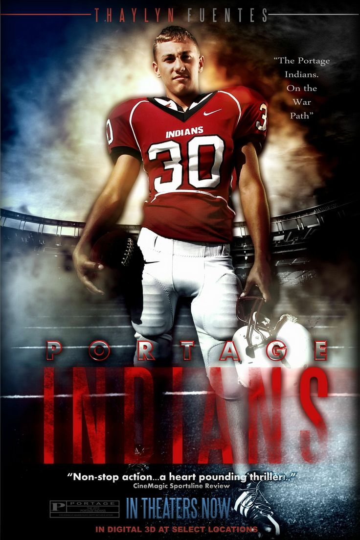 High School Football Movie Poster CineMagic Movie