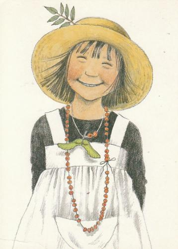 Linnea by Lena Anderson (Sweden)    She makes me smile!