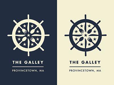 The Galley - Restaurant Logo by Jonathan Schubert