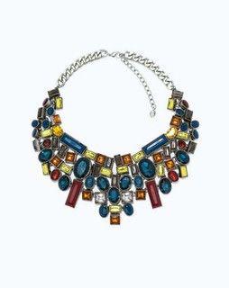 Multicolor Necklace for women.