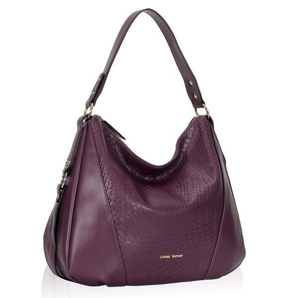 Woven Pattern Hobo Bag Stylish Crossbody For Lady Woman Purse G Purple Cl187q8lw6k Women S Bags Hobobags