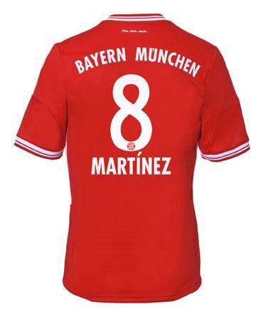 Maillot de Foot Bayern Munich (8 Martínez) Domicile Adidas Collection 2013 2014 rouge Pas Cher http://www.korsel.net/maillot-de-foot-bayern-munich-8-mart%C3%ADnez-domicile-adidas-collection-2013-2014-rouge-pas-cher-p-2400.html