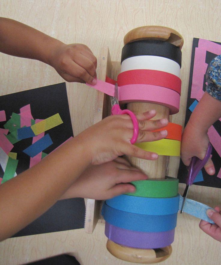 Scissor exercises are important for developing... | Reggio Children Inspired