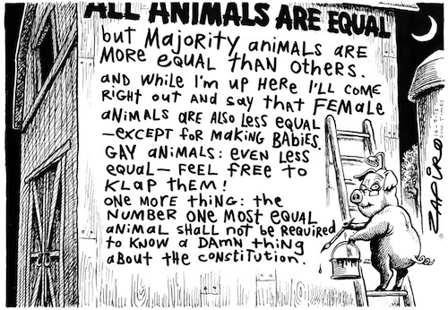 120916st - All Animals are Equal