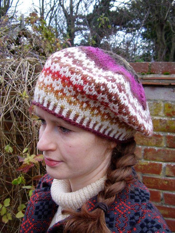 186 best Fair Isle Hats images on Pinterest | Fair isle knitting ...