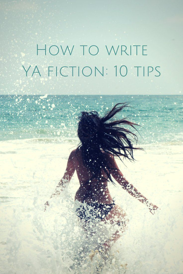 How to write YA fiction - Young adult fiction writing blog cover