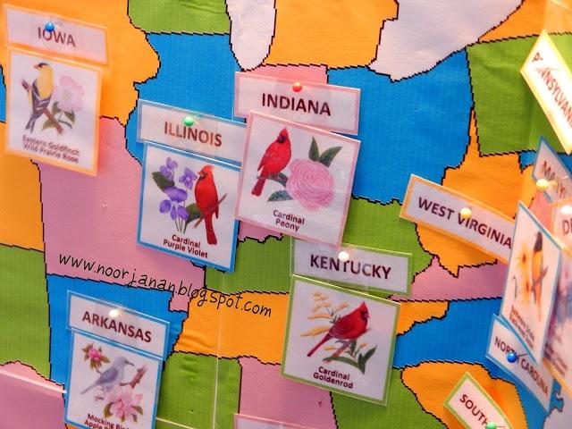 Noor Janan Homeschool: US States Geography