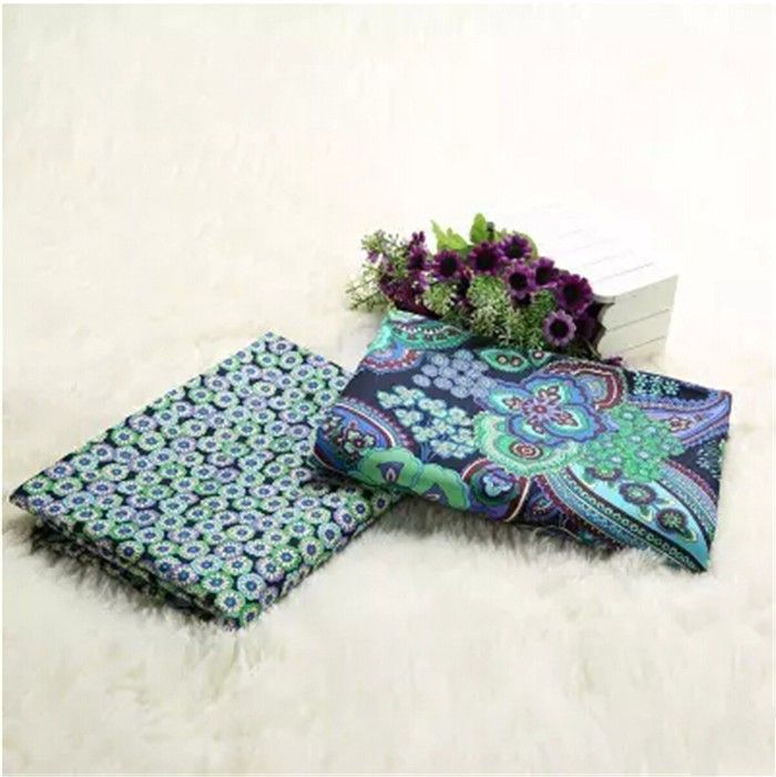 Cheap flower vintage fabric, Buy Quality fabric flower pot directly from China flower daphne Suppliers: Retro Blue Flower 100% Cotton Patchwork America VB Fabric Weave Fabric For DIY Bag,Sewing Craft,Cloth Textile 2pcs/lot 150*50cm