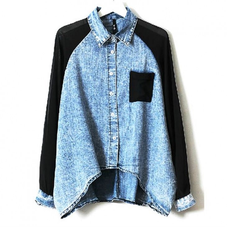 Denim shirt - ideas for remaking (selection) / Shirts / SECOND STREET