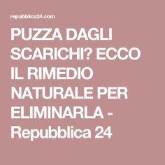 PUZZA DAGLI SCARICHI? ECCO IL RIMEDIO NATURALE PER ELIMINARLA - Repubblica 24