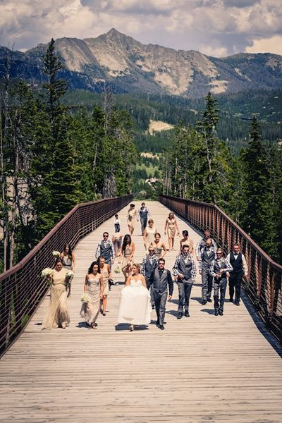 Moonlight Basin Sky Mt Best Wedding Venue