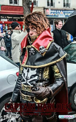 Space Pirate Captain Harlock Cosplay   Space Pirate Captain Harlock the movie   Flickr - Photo Sharing!