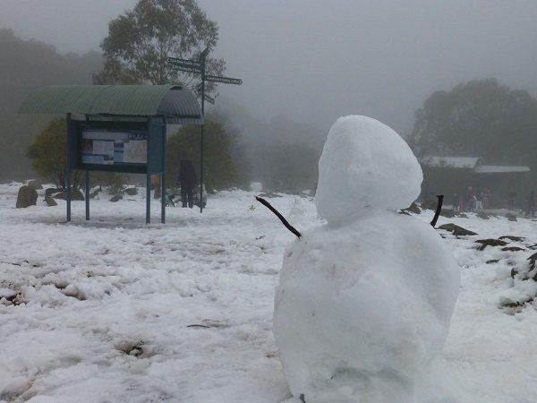 mt donna buang snowman