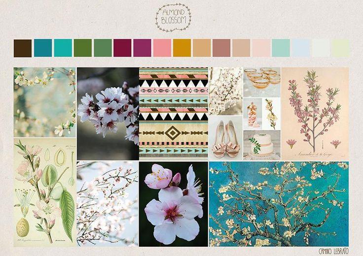 Palette of color inspiration:  Almond Blossom by Nu Bkds - Skillshare