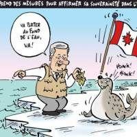 Images Reprise - Le Canada propose des mesures pour affirmer sa souveraineté dans Images drôles Caricatures sur Humour.com