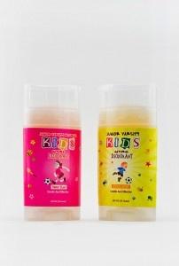 All natural deodorant for children