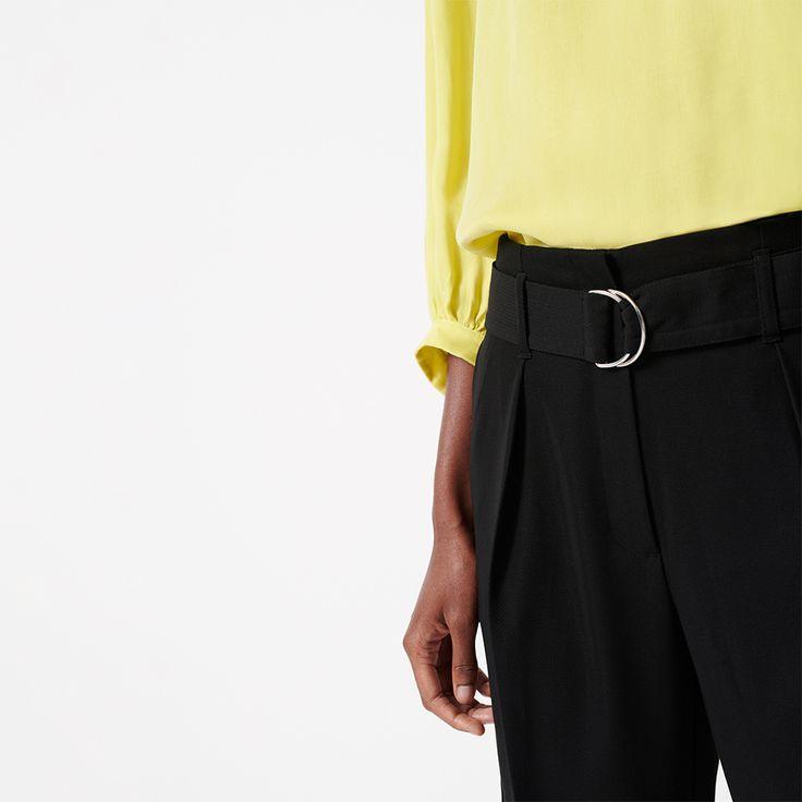 Gelbe Bluse Kombinieren