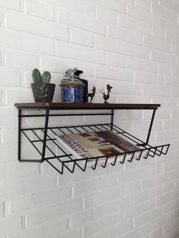Ein persönlicher Favorit aus meinem Etsy-Shop https://www.etsy.com/de/listing/557465663/vintage-regal-wandregal-string-teak-bord