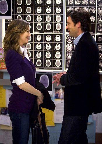 Derek and Meredith (Patrick Dempsey and Ellen Pompeo), Grey's Anatomy