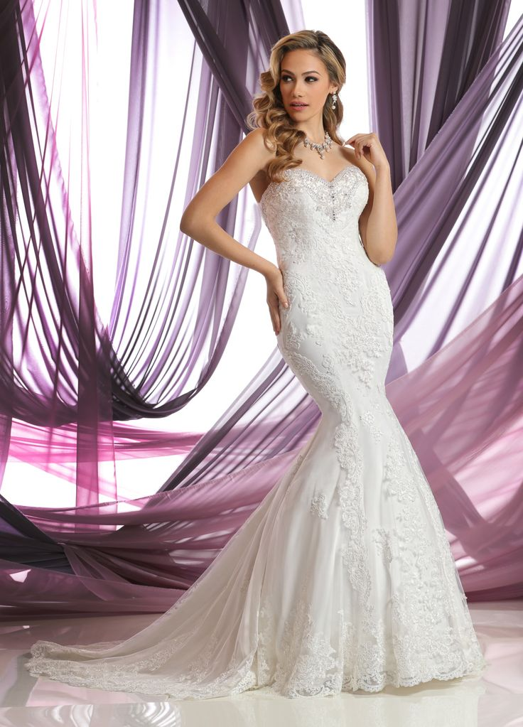 13 best DaVinci Bridal Gowns images on Pinterest | Wedding frocks ...