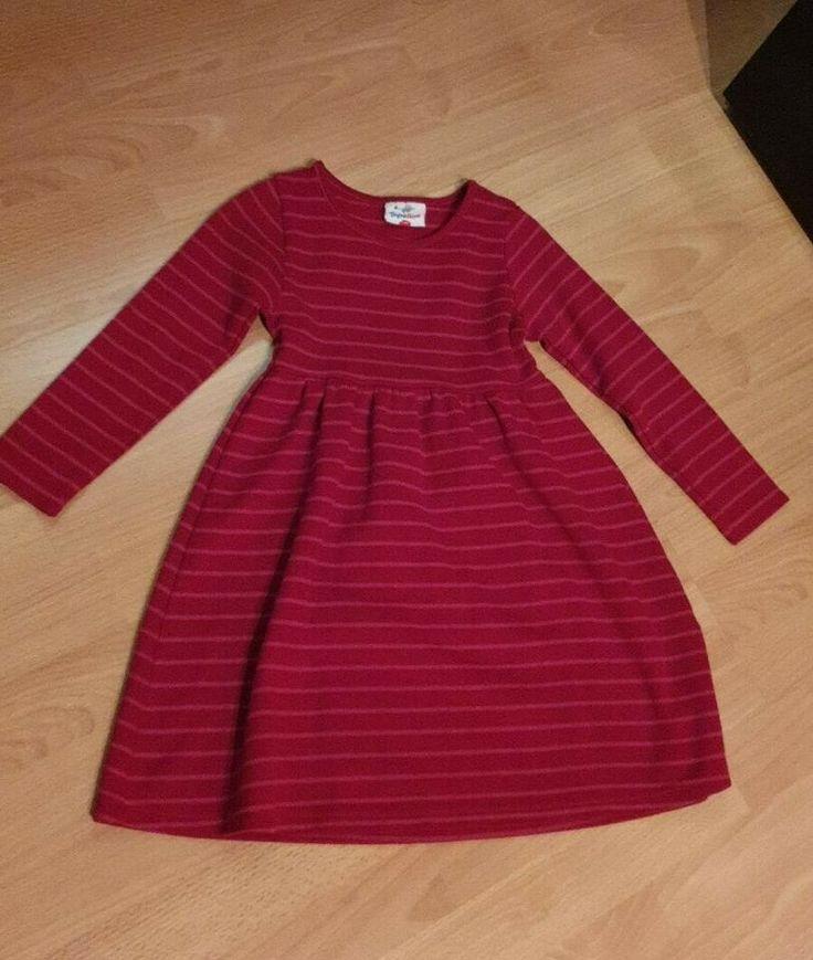 kleid rot gestreift gr 116 in hessen rote streifen kleider rot