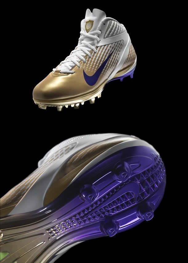New Nike LSU Football Shoes 2011 Uniform Photo  http://sportsbettingarbitrage.in