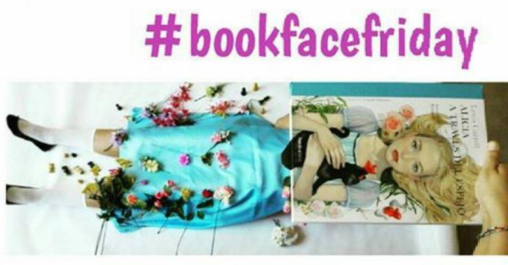 """#petitsllibres """"Un #bookface màgic que fa volar la imaginació: 'Alicia a través del espejo', de Lewis Carroll."""" #libro #book #maravillas #biblio"""