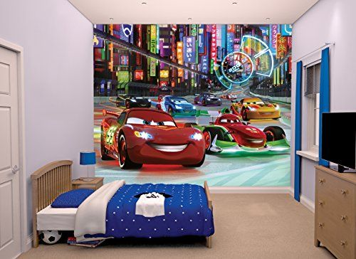 "Walltastic ""Disney Cars"" Wallpaper Mural, 8 x 10 ft Wallt... https://www.amazon.co.uk/dp/B01ARLRXHY/ref=cm_sw_r_pi_dp_x_gCLByb0XQZKBH"