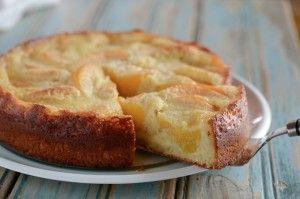 Peach Kuchen, German Peach Cake